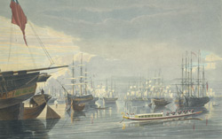 A View of the River, Shipping and Town, from near Smith's Dock